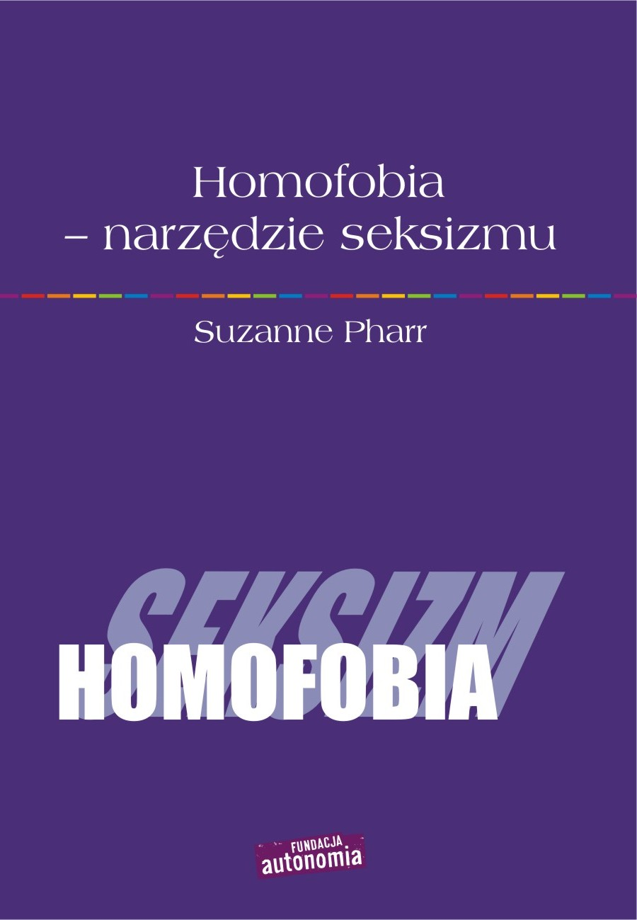Homofobia - narzędzie seksizmu Pharr Suzanne